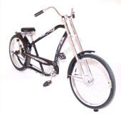 Велочоппер Micargi Bicycles Prado Deluxe Chrome 3 speed stick shifter