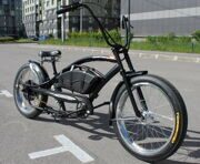 Электровелочоппер Micargi Bronco Extreme 1500W (wide polished rims)