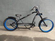 Велочоппер Micargi Bicycles Prado Deluxe Blue Sky 4 speed